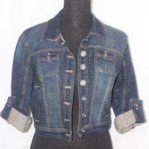 New Look Cropped Jean Jacket